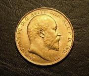 Gold Sovereign 1909