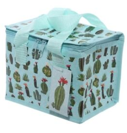 Woven Lunch Box/Cool Bag Cactus Print