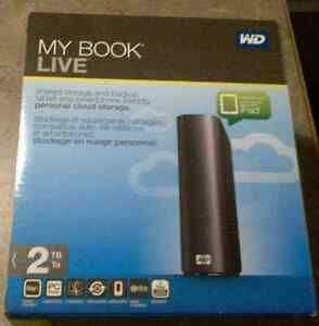 WD My Book Live 2TB Network Cloud Drive