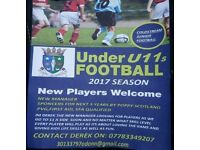 Football players u11