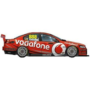 1:43 Scale Diecast Model Car 2012 Team Vodafone Craig Lowndes #888 NEW 1888-6