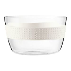 Bodum Pavina Salad Bowl 21cm diameter Glass / White
