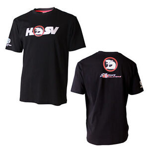 HOLDEN SPECIAL VEHICLES HSV MENS BLACK TEE T-SHIRT V8SUPERCARS