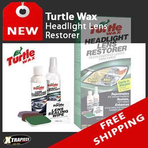 turtle wax headlight lens restorer kit t240kt restoration cleaner new. Black Bedroom Furniture Sets. Home Design Ideas