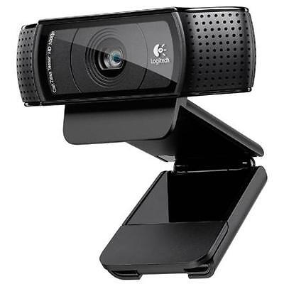 Logitech HD Pro Webcam C920 1080p Widescreen Video Calling Recording on Rummage