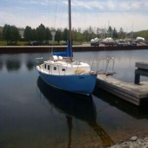 30 Foot Sailboat