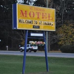 st.thomas motel is offering weekly room for 175 a week