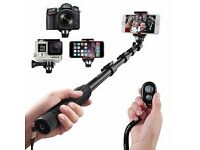 Arespark Professional Durable Selfie Stick Selfie Monopod for Extends to 50 Inches (127cm)