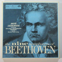 LP's The Nine Symphonies of Beethoven