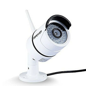 DBPOWER Security Bullet IP cctv Camera with day/Night Vision Motion Detection Remote app Phone/