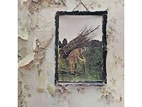 LED ZEPPELIN IV (REMASTERED BY JIMMY PAGE ON 180G VINYL) – NEW SEALED COPY