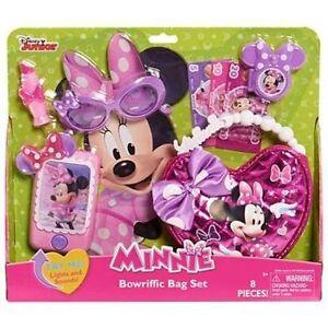 NEW: Disney Minnie Bow-rific Bag Set