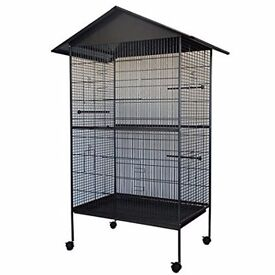 Used birdcage for parrots, cockatiels, budgies, etc
