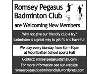 Romsey Pegasus Badminton Club