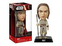 Star Wars Rey Bobblehead Figure - Brand New Boxed