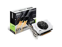 MSI NVIDIA 950 - 2GB GDDR PCIe Graphics Card