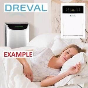 NEW DREVAL HEPA AIR PURIFIER D-903 227292685 6 STAGE HOME HOUSE