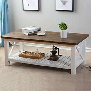 New Chic Coffee Table - Real Wood - Delivery Available