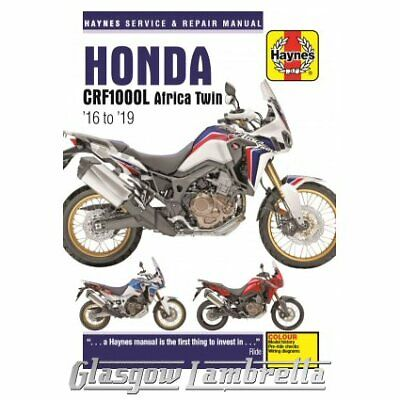 Haynes Service Manual 6434 Honda CRF1000 A / D / L (2016 - 2019) + stickers