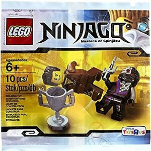 Lego 5002144 Dareth vs Nindroid Polybag Toys R Us Exclusive 10PC