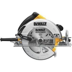 dewalt DWE575SBr scie ronde avec frein