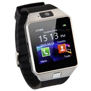 NEW Bluetooth Smart Watch SIM phone with Camera iphone & android