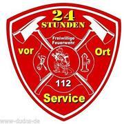 Feuerwehr Autoaufkleber