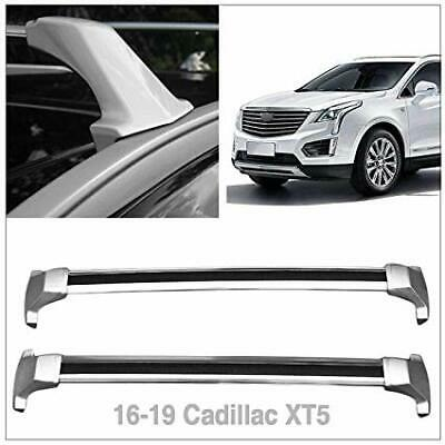 Cross Bar Car Roof Rack for Cadillac XT5 2016-2020 with factory rails
