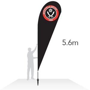 Feather Teardrop Flag 15ft Tall