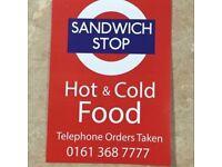 Sandwich Shop for Sale