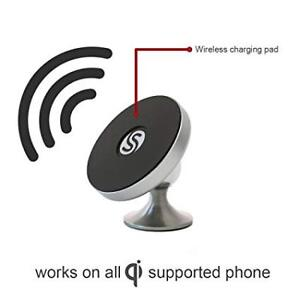 NO MAGNET Wireless Charger Car Mount Holder - Nano Suction