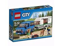 Lego City 60117 - Car and Caravan - BRAND NEW UNOPENED
