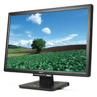 "22"" TFT LCD ACER monitor"