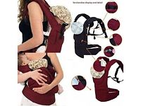 Baby safety carrier front/back infant comfort sling-wrap-harness Never Used