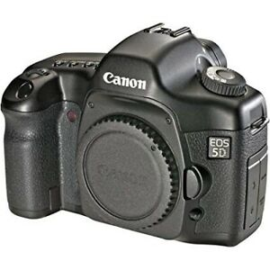 Canon 5D (body only) full frame camera