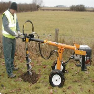 One Man Auger Rental