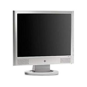HP monitor- like new - 15 inch - silver- LCD
