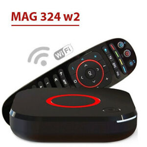 Mag324 w2 + 24 months 5000 iptv channels subscription Total $278