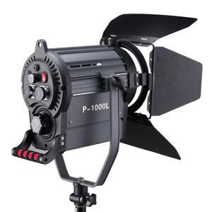 Fresnel 1000LED avec des filtres et télécommande pr photo video