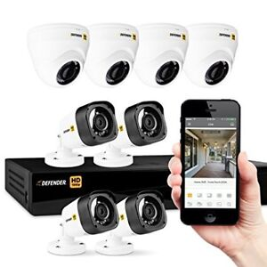Defender  HD 1080p 8 - channel security camera (Brand new)