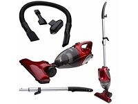 Lightweight Upright & HandHeld Bagless Vacuum Cleaner Red