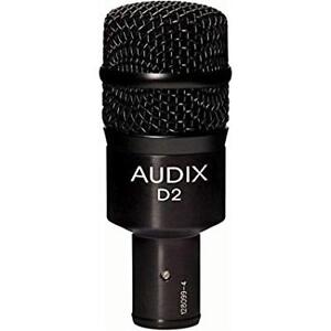 Audix D2 Dynamic Microphone Hyper-Cardioid Tom Mic - Brand New!