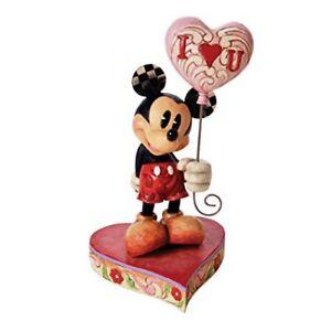Jim Shore Disney Tradition Mickey Heart balloon