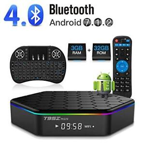 BRAND NEW ANDROID 7.1 4K T95Z PLUS 2GB/16GB S912 KODI IPTV 2018