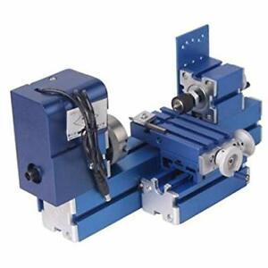 Mini Turning Lathe Machine For DIY Soft Metal Wood Working NEW