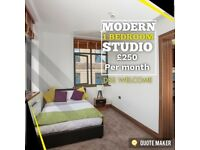 Modern Studio Apartment 1 Bedroom City Center DSS Welcome