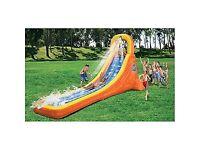 Ultimate Splash Attack Inflatable Water Slide