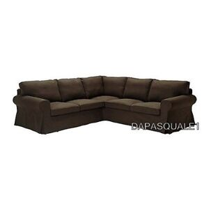 Brand new brown IKEA ektorp 201.832.54 Sectional SLIPCOVER