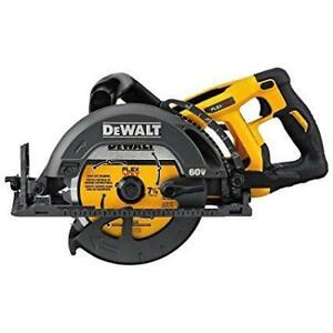 DEWALT DCS577B FLEXVOLT 60V MAX 7-1/4 in. Cordless Worm Drive Style Saw (Tool Only)