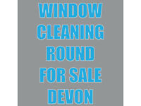 Window Cleaning Round for sale Paignton DEVON. wanted £1800